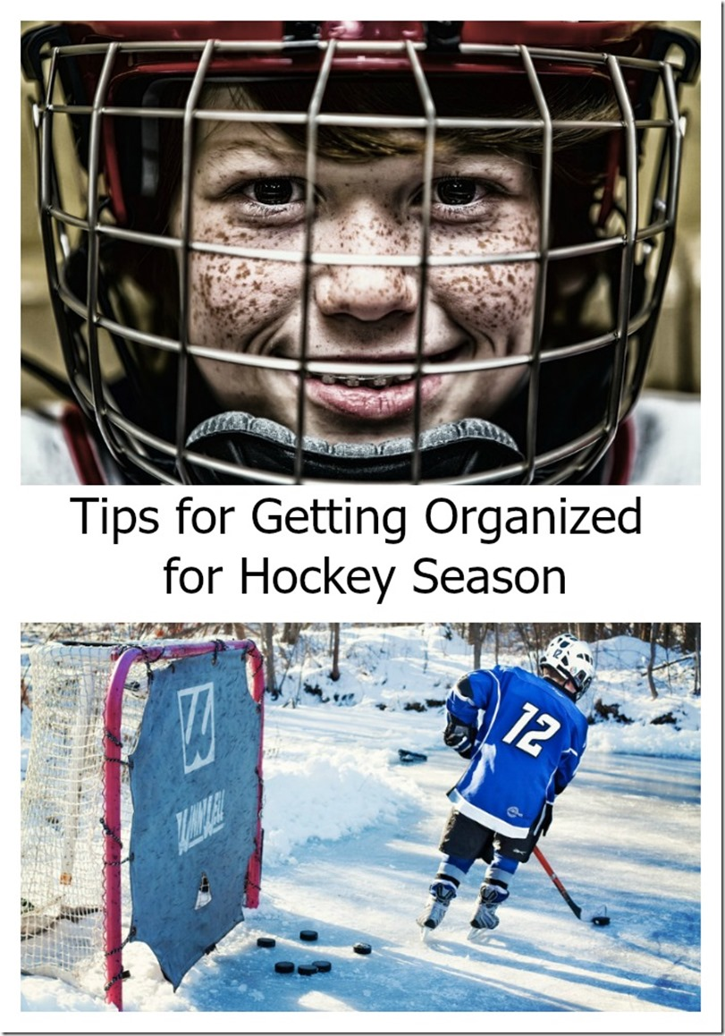 5 tips for getting organized for hockey season
