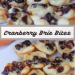 Cranberry Brie Bites Recipe
