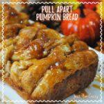Pumpkin Pull Apart Bread Recipe