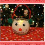 Easy DIY Snowman Candle Holder