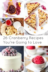 Cranberry Recipes You're Going to Love