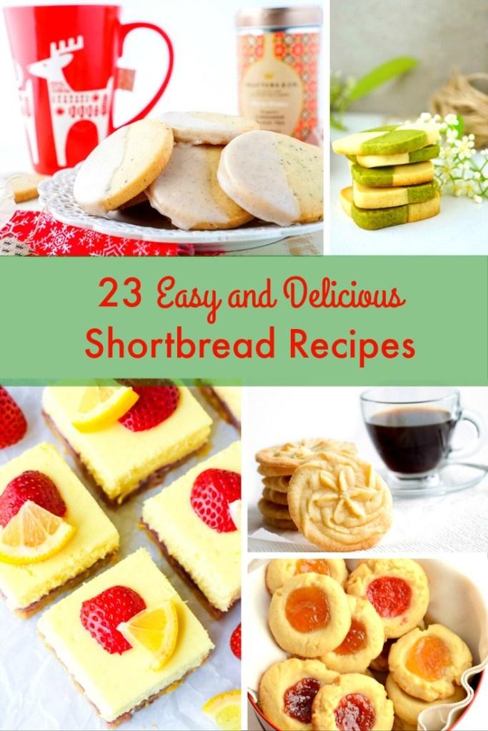 easy and delicious shortbread recipes
