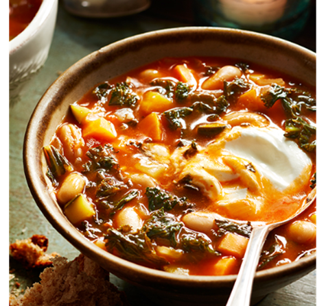 tunisian vegetable bean soup