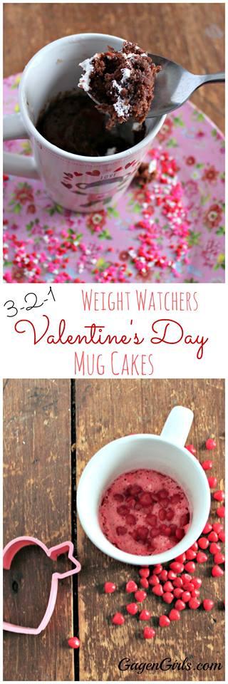 3 2 1 weight watchers mug cake recipe