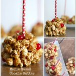 Maple Bacon Cookie Butter Popcorn Balls Recipe