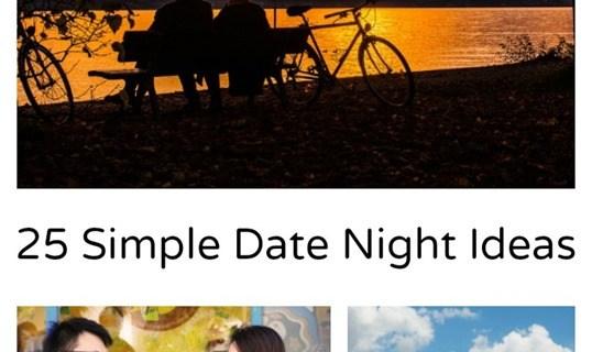 25 Simple Date Night Ideas