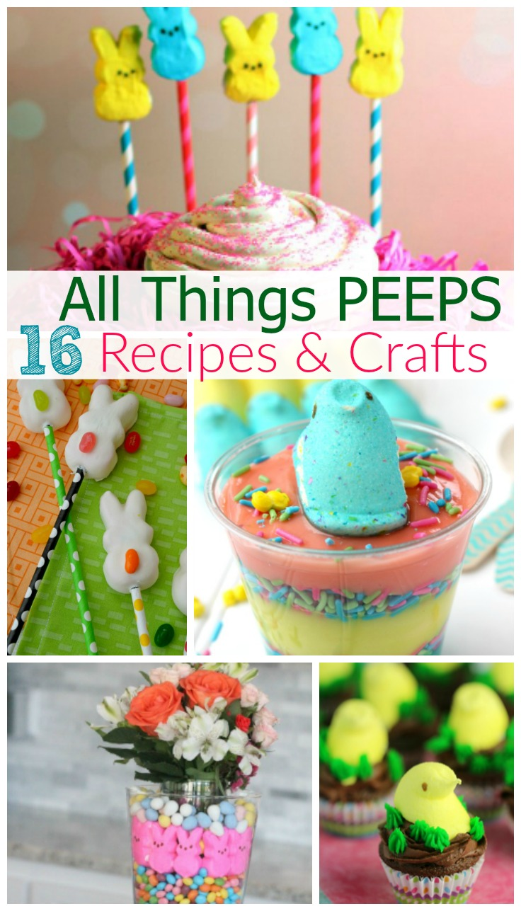 peeps recipes and crafts
