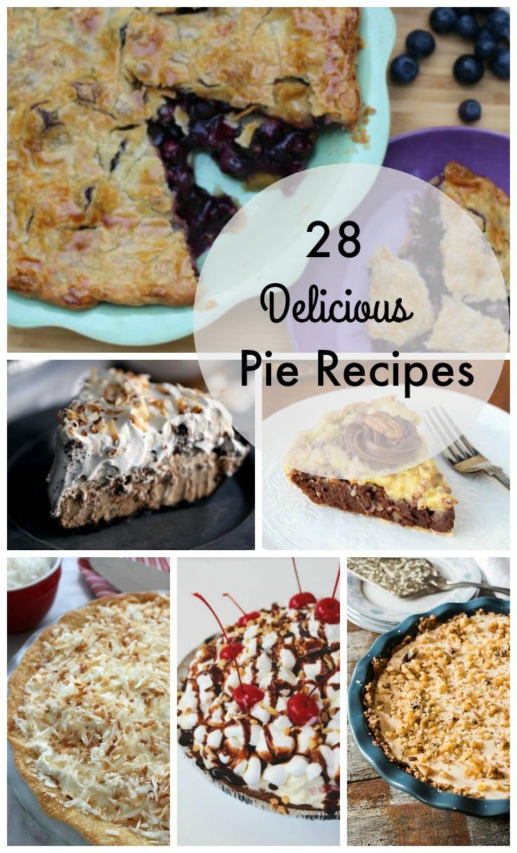 28 delicious pie recipes