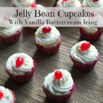Jelly Bean Cupcakes Recipe