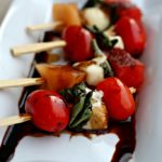 Grilled Caprese Salad on a Stick