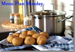 Menu Plan Monday–June 19, 2017