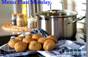 Menu Plan Monday–June 19, 2017