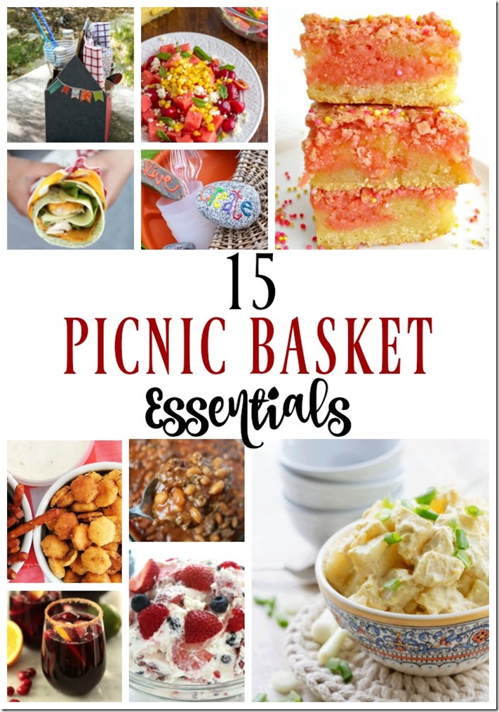 15 Picnic Basket Essentials