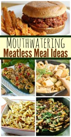 meatless meals ideas recipes
