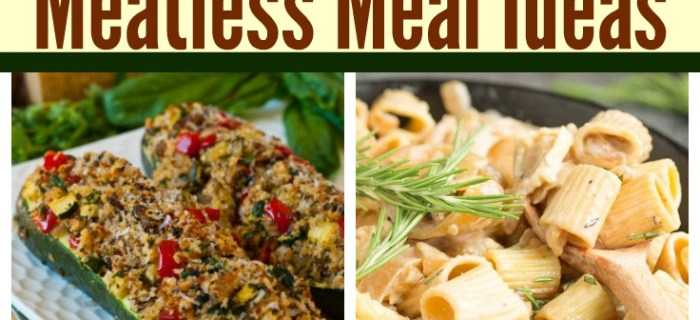 Mouthwatering Meatless Meals to Satisfy the Whole Family