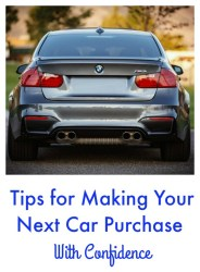 Handy Tips for Making Your Next Car Purchase with Confidence