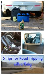 5 Tips for Road Tripping with a Baby