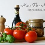 Fall Weekly Meal Plan for October 30