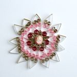 Simple but Elegant Paper Quilled Christmas Ornament