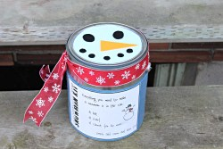 DIY Build a Snowman Kit
