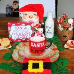 Christmas Table Setting for Santa Claus