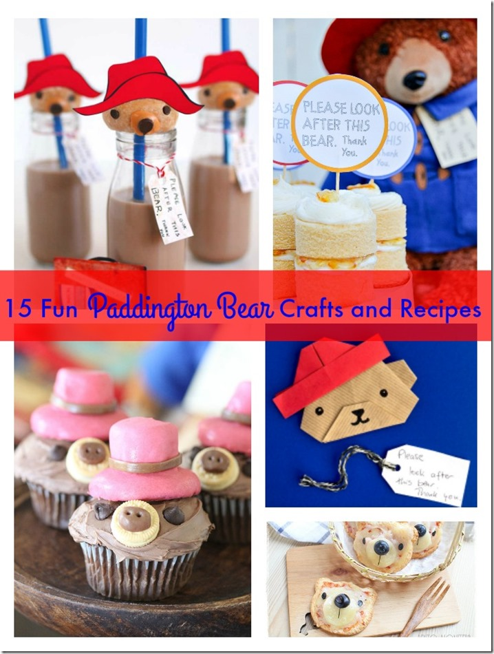 15 fun paddington bear crafts and recipes