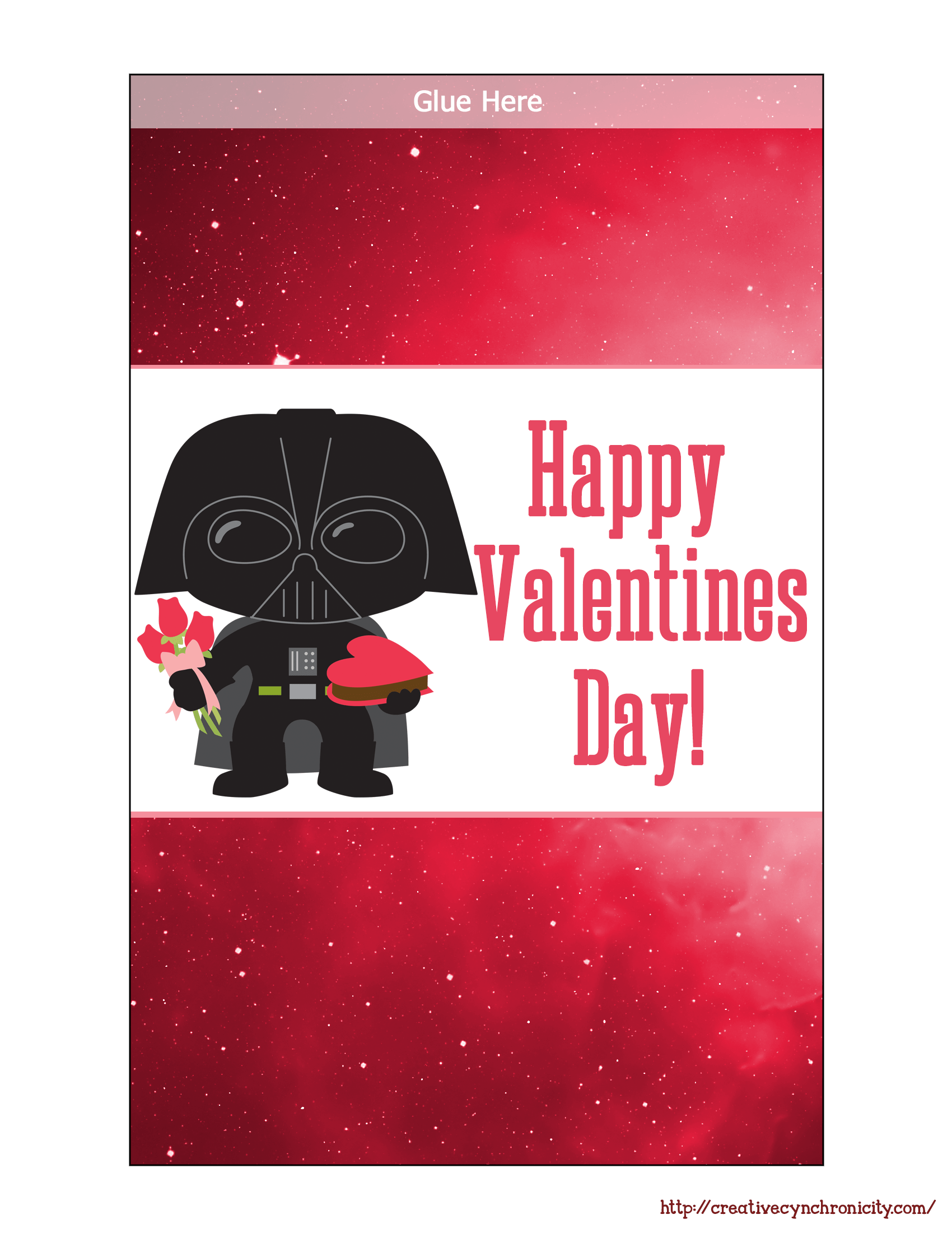 free printable star wars valentine microwave popcorn wrappers