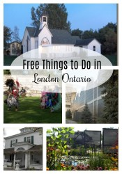 Free or Low Cost Things to Do in London Ontario