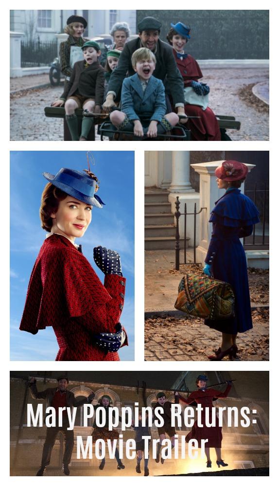 Mary Poppins Returns Movie Trailer