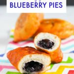 Air Fryer Blueberry Pies