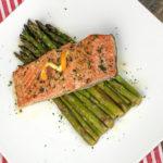Orange Glazed Salmon with Asparagus Recipe