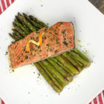 Orange Glazed Salmon with Asparagus Recipe