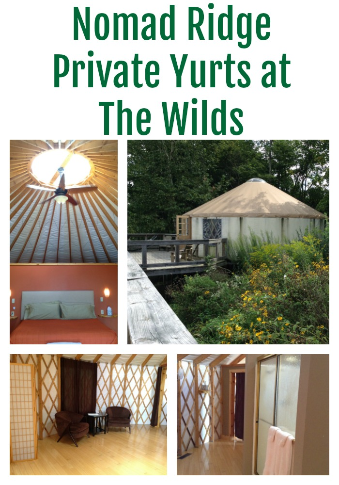 nomad ridge private yurts at the wilds ohio