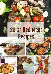 20 grilled meat recipes
