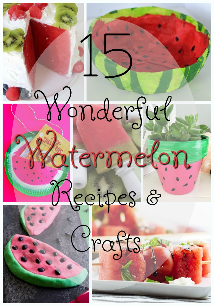 15 Wonderful Watermelon Recipes Crafts