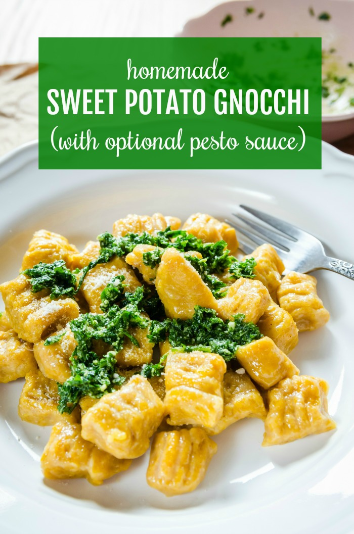 homemade sweet potato gnocchi recipe