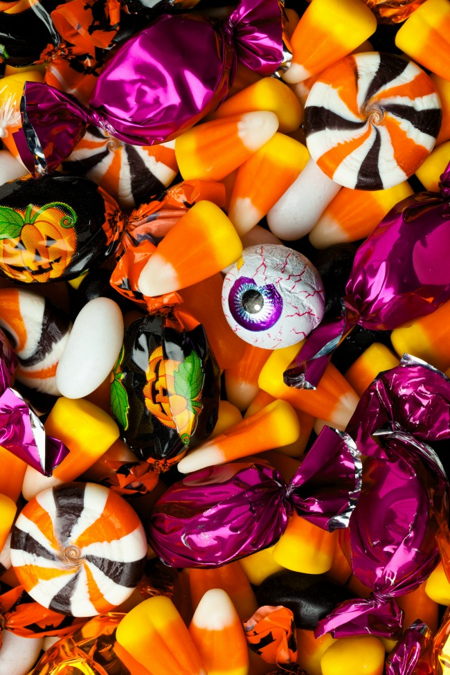 ways to use leftover halloween candy