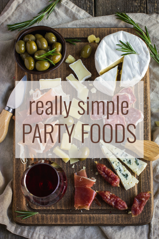 really simple party foods