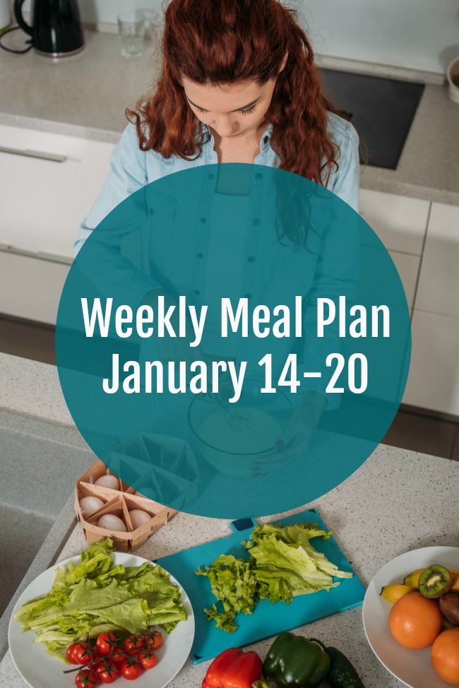 Weekly Meal Plan January 14-20