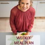 Weekly Meal Plan December 31 – January 6