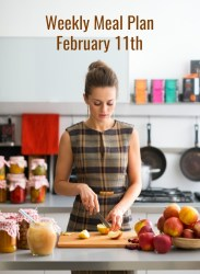 weekly meal plan february 11