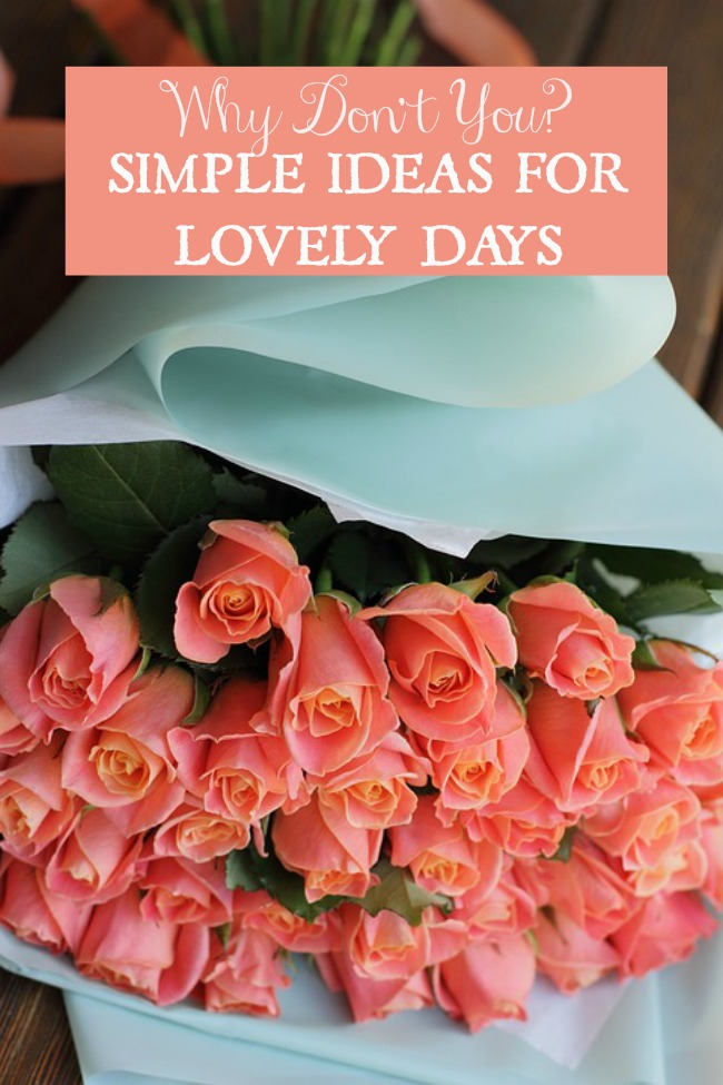 SIMPLE IDEAS FOR LOVELY DAYS March 11