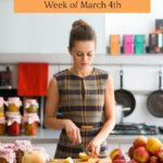 Weekly Meal Plan Week of March 4