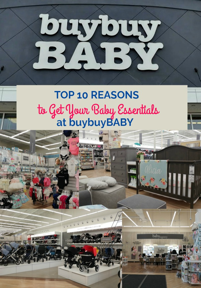 get your baby essentials at buybuybaby