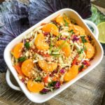 Asian Cabbage Salad with Spicy Peanut Dressing