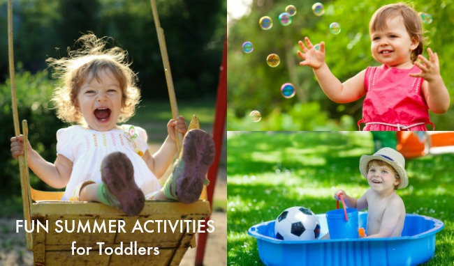fun summer activities for toddlers