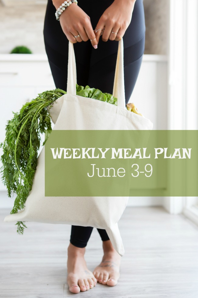 Weekly Meal Plan of family friendly, inexpensive meals