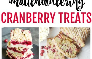 mouthwatering cranberry treats