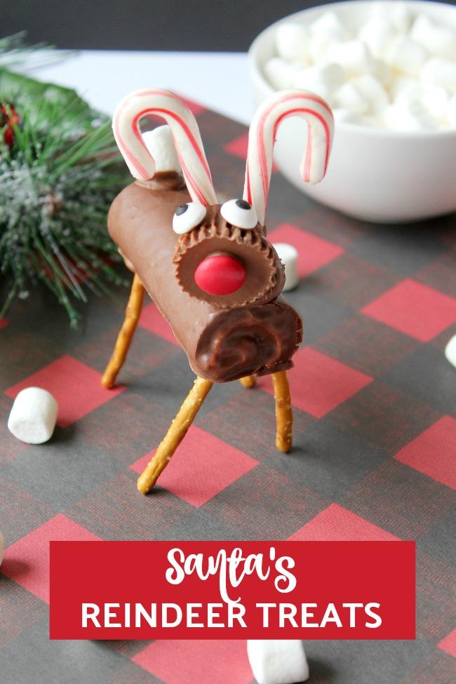 Santa's reindeer candy treats