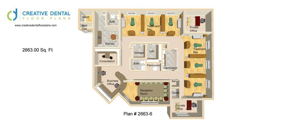 General Dentist Floor Plans